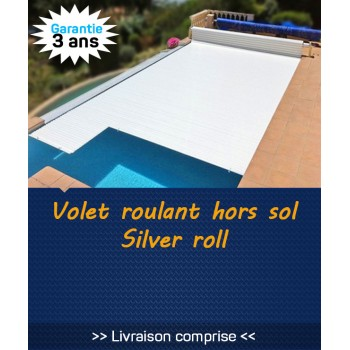 Volet roulant hors sol Silver Roll