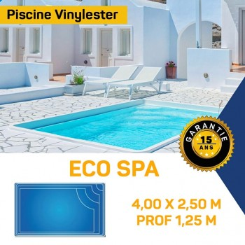 Mini Piscine coque vinylester Eco Spa