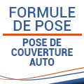 Pose de couverture auto